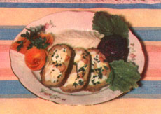 Zavivanets made of veal